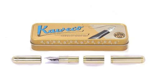 Kaweco Supra Fountain Pen Brass Nib: M (medium) – image 1
