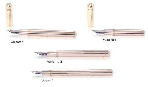 Kaweco Supra Fountain Pen Brass Nib: F (fine) – image 3