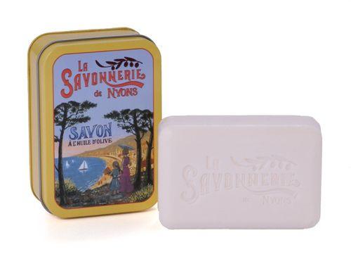 La Savonnerie de Nyons - Soap In A Tin Box Cote d`Azur, 200 g – image 1