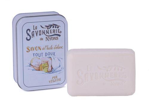 La Savonnerie de Nyons - Soap In A Tin Box Bébé Douceur, 200 g – image 1