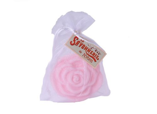 La Savonnerie de Nyons - Soap in rose form, rose, 90g