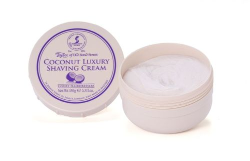 Coconut Shaving Cream, 150g - Taylor of Old Bond Street