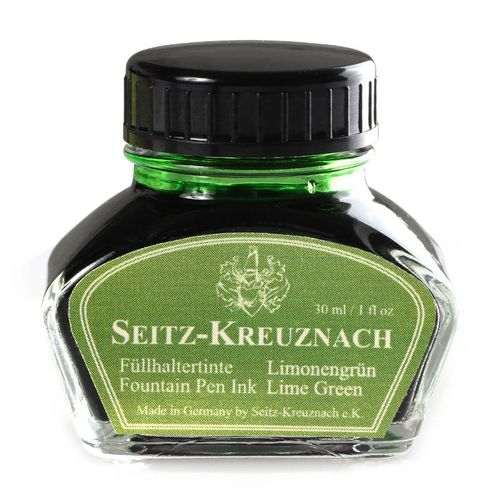 Seitz-Kreuznach Fountain pen ink Lime Green, 1 fl oz, Colors of Nature – image 1