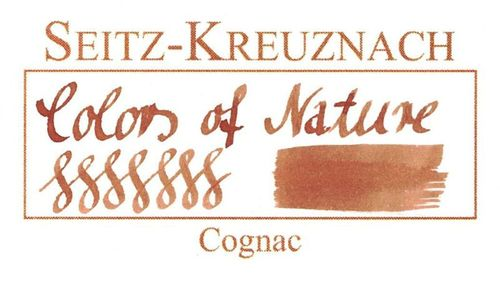 Seitz-Kreuznach Tinte Cognac, 30ml, Colors of Nature – Bild 3