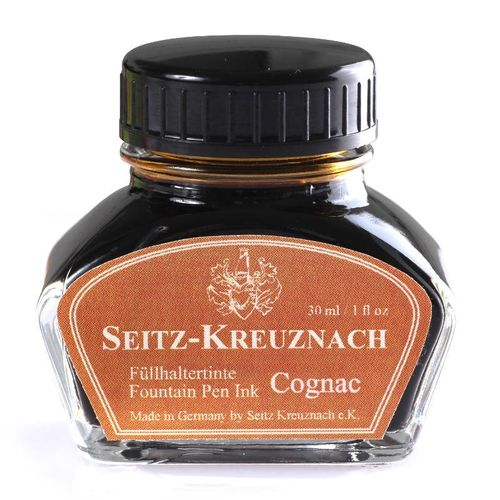 Seitz-Kreuznach Fountain pen ink Cognac, 1 fl oz, Colors of Nature – image 1