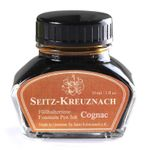 Seitz-Kreuznach Fountain pen ink Cognac, 1 fl oz, Colors of Nature