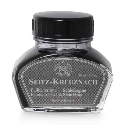 Seitz-Kreuznach Fountain pen ink Slate Grey, 1 fl oz, Colors of Nature – image 1