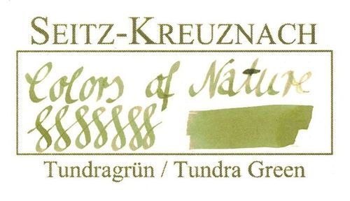 Seitz-Kreuznach Tinte Tundragrün, 30ml, Colors of Nature – Bild 3