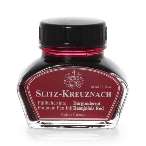 Seitz-Kreuznach Fountain pen ink Beaujolais Red, 1 fl oz, Colors of Nature – image 1