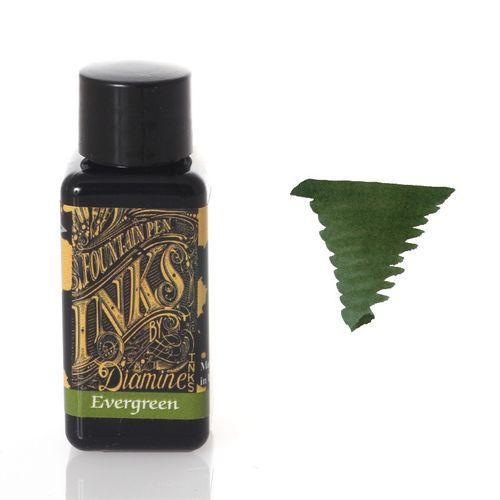 Diamine - Fountain Pen Ink, Evergreen 30ml – image 1