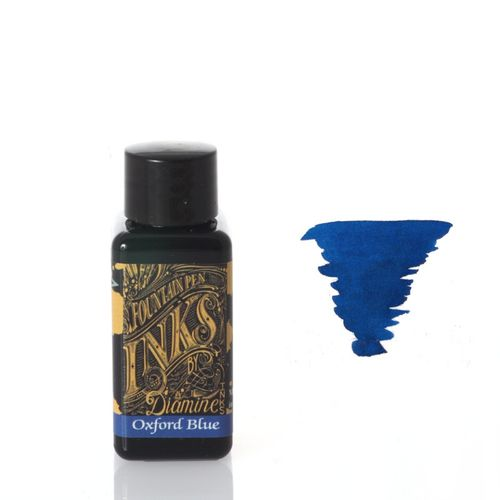 Diamine - Fountain Pen Ink, Oxford Blue 30ml – image 1