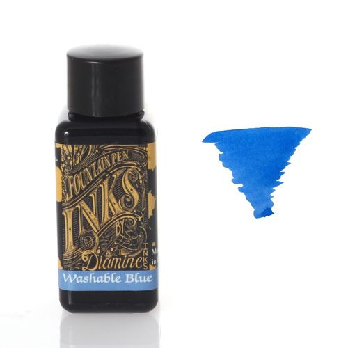 Diamine - Fountain Pen Ink, Washable Blue 30ml – image 1