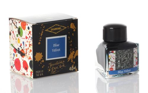 Diamine - Anniversary Fountain Pen Ink 150 years, Blue Velvet 40ml