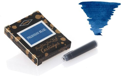 Diamine - Standard Ink Cartridges, Prussian Blue 6 cartridges – image 1