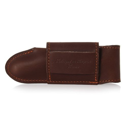 Max Capdebarthes Pocket knife sheath, Laguiole Trad. 12 cm, Choco (brown) – image 2