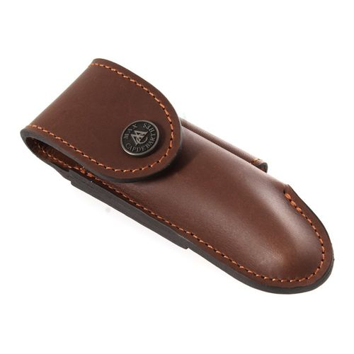 Max Capdebarthes Pocket knife sheath, Laguiole Trad. 12 cm, Choco (brown) – image 1
