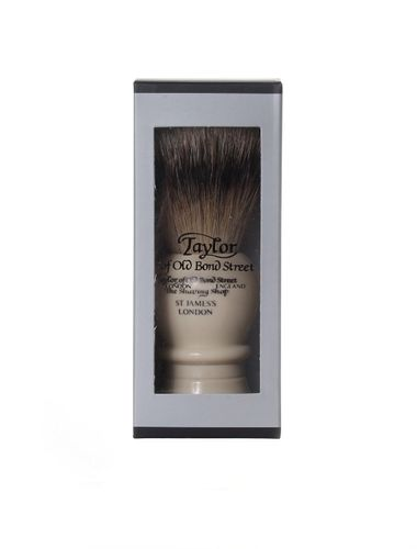 Super Badger Shaving Brush, 11,5 cm, medium, ivory - Taylor of old Bond Street – image 3