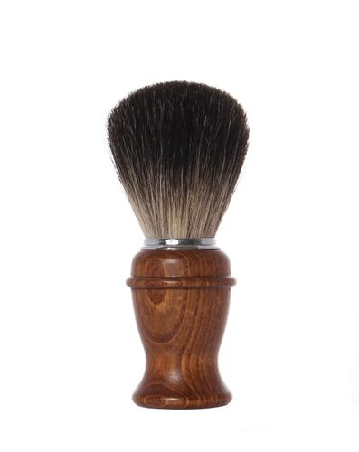 Badger Shaving Brush, 11,0 cm, wooden handle - Erbe Solingen
