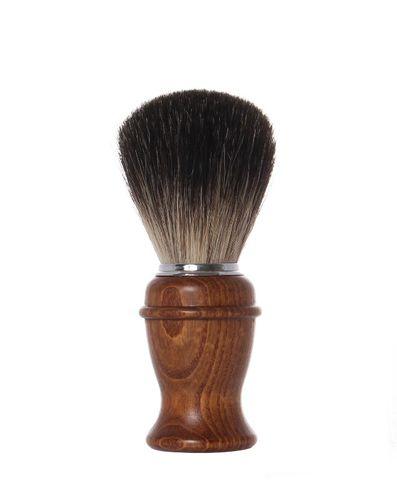 Rasierpinsel Dachshaar 11,0 cm, Holzgriff - Erbe Solingen