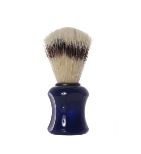 Shaving Brush with pig´s bristles, 10,0 cm, blue - Erbe Solingen