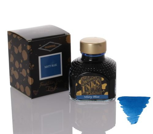 Diamine - Fountain Pen Ink, Misty Blue 80ml – image 1