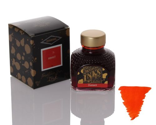 Diamine - Fountain Pen Ink, Sunset 80ml – image 1