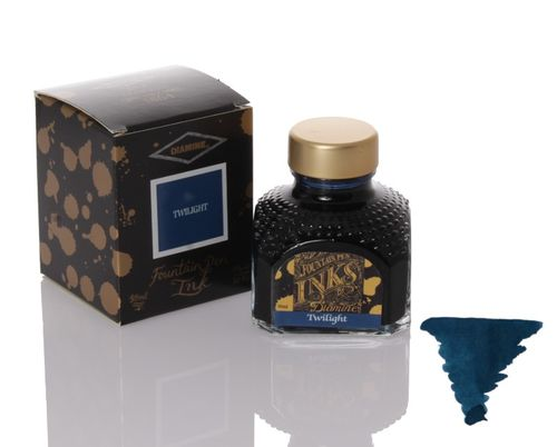 Diamine - Fountain Pen Ink, Twilight 80ml – image 1
