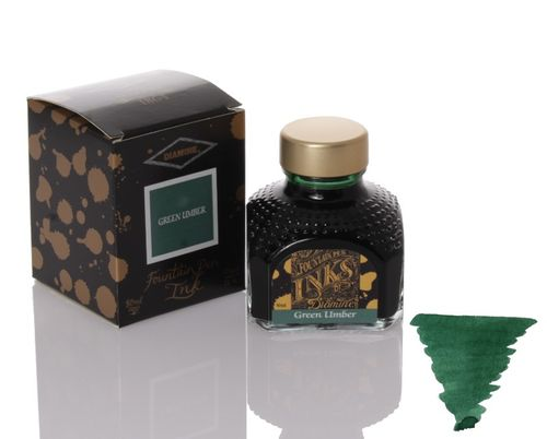 Diamine - Fountain Pen Ink, Green Umber 80ml – image 1