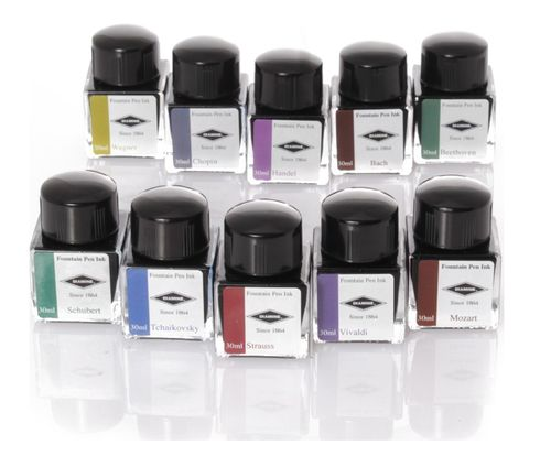 Diamine - Limited Edition Inks in Gift Box, Music, 10x30ml – image 2
