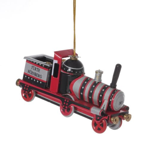Fürther Steam Engine, Tin Decoration - Nostalgic Tin Toy