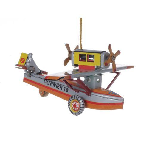 Wasserflugzeug, Blechdeko - Nostalgisches Blechspielzeug
