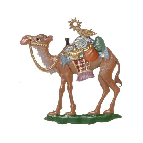 Tree decorations made of tin, Camel with gifts - Wilhelm Schweizer -