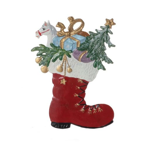 Tree decorations made of tin, boots - Wilhelm Schweizer - – image 2