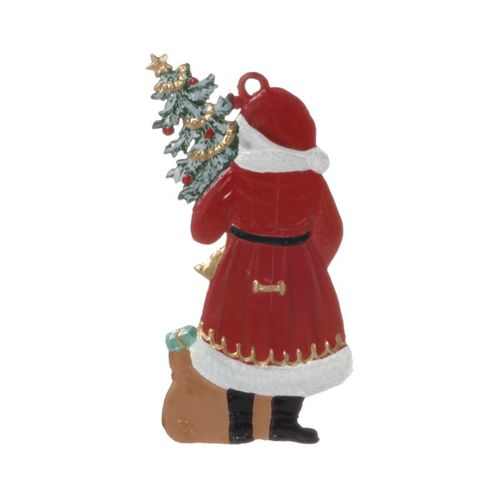 Tree decorations made of tin, Nikolaus assortment 7-pieces- Wilhelm Schweizer – image 3