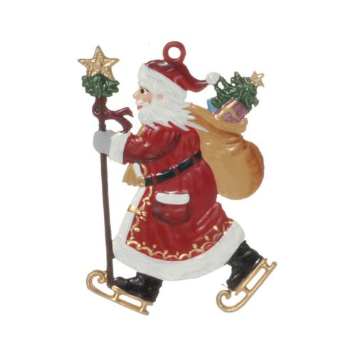 Tree decorations made of tin, Nikolaus assortment 7-pieces- Wilhelm Schweizer – image 10