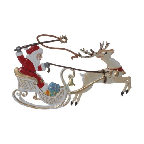 Tree decorations made of tin, Nikolaus assortment 7-pieces- Wilhelm Schweizer – image 12