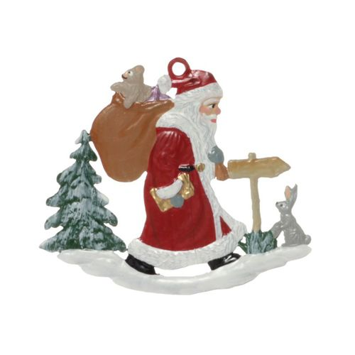 Tree decorations made of tin, Nikolaus assortment 7-pieces- Wilhelm Schweizer – image 14