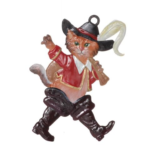 Puss in Boots, tin, for hanging - Wilhelm Schweizer – image 1