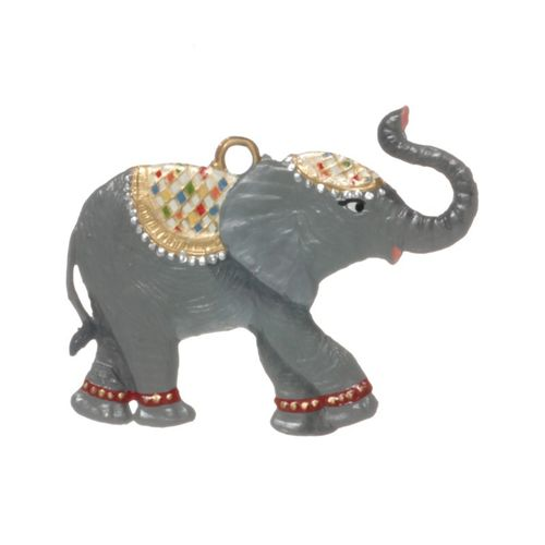 elephant, tin, for hanging - Wilhelm Schweizer – image 3