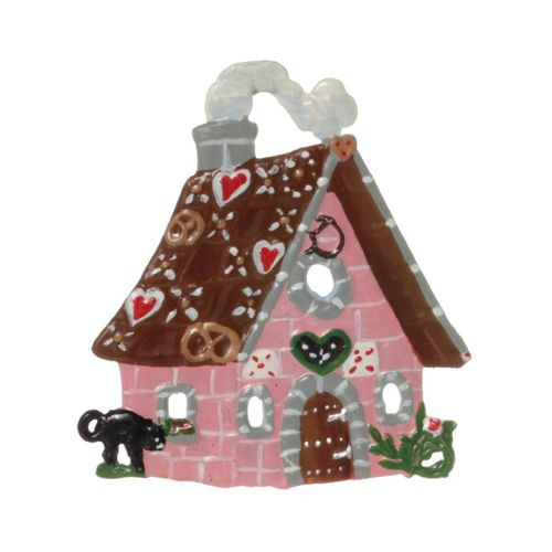 Tree decorations made of tin, gingerbreadhouse - Wilhelm Schweizer - – image 1
