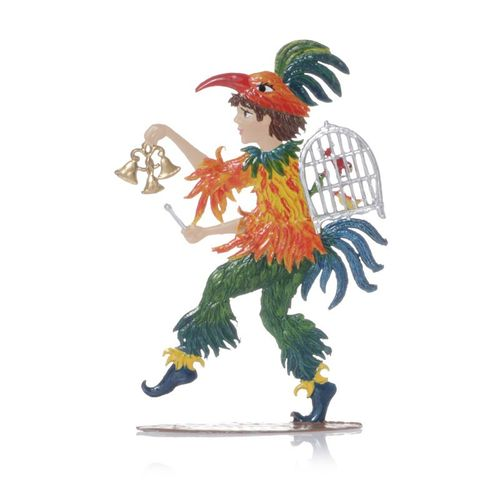 Papageno made of pewter - Wilhelm Schweizer - – image 2