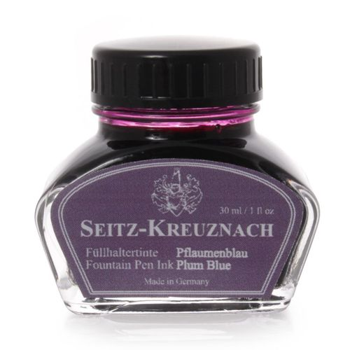 Seitz-Kreuznach Fountain pen ink Plum Blue, 1 fl oz – image 1