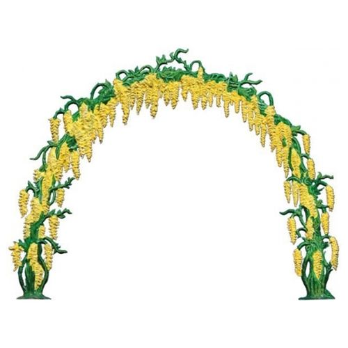 Laburnum arch, 12x15cm, made of pewter - Wilhelm Schweizer -