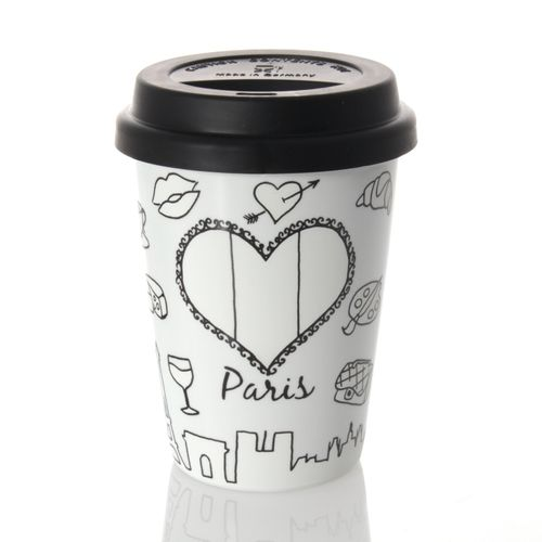 Könitz Coffee-To-Go Mug - Selfmade City Mug - Paris, 380ml – image 2