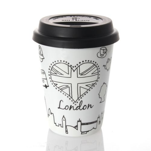 Könitz Coffee-To-Go Mug - Selfmade City Mug - London, 380ml – image 2
