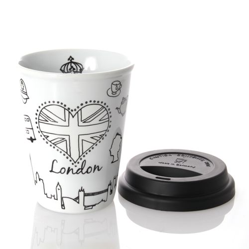 Könitz Coffee-To-Go Mug - Selfmade City Mug - London, 380ml – image 3