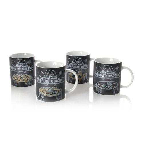 Könitz Set of 4 Mugs Cuisine – image 1
