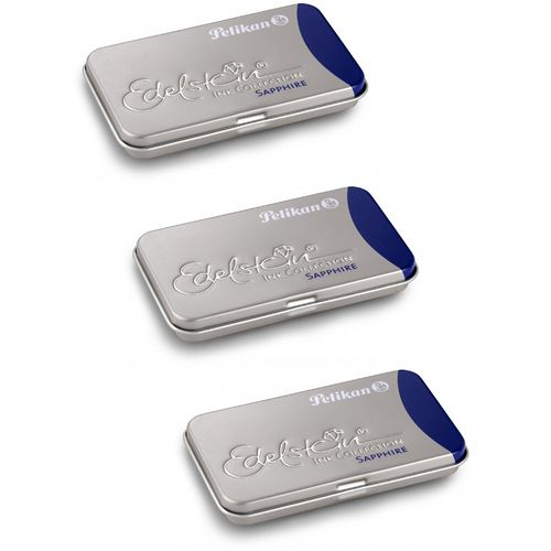 Pelikan Edelstein Ink cartridges Sapphire (3 x 6 cartridges)