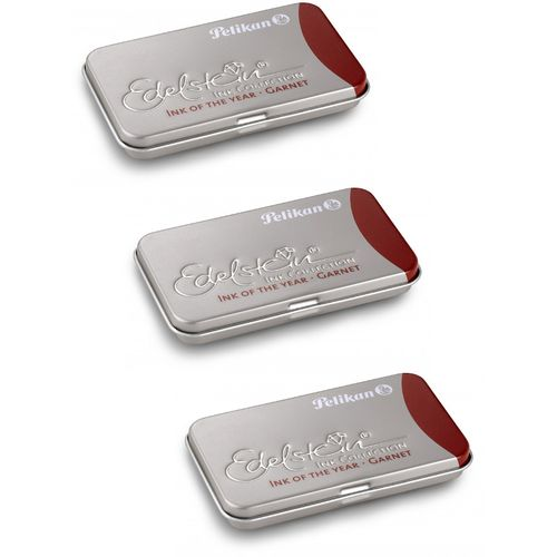 Pelikan Edelstein Ink cartridges Garnet (3 x 6 cartridges)