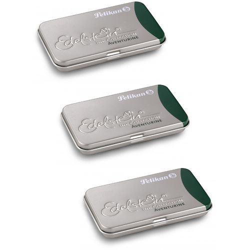 Pelikan Edelstein Ink cartridges Aventurine (3 x 6 cartridges)